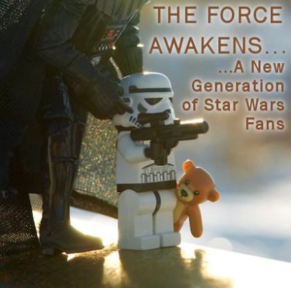 THE FORCE AWAKENS…