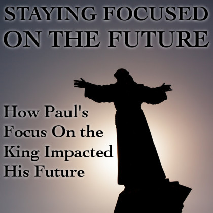 STAYING FOCUSED ON THE FUTURE